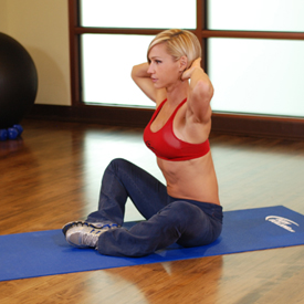 stretch oefening Groin and Back