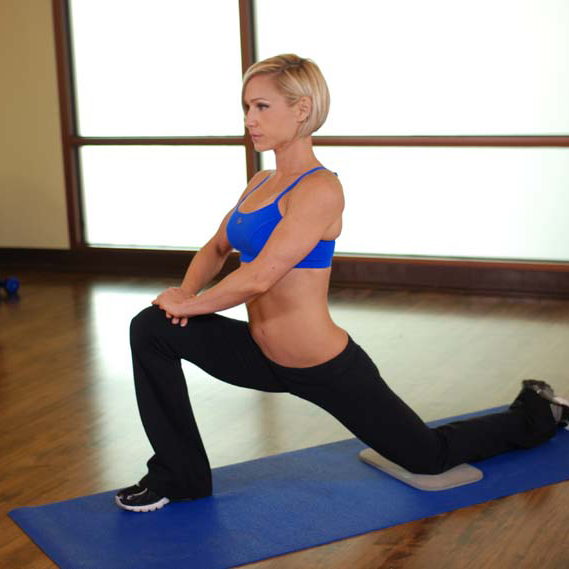 stretch oefening Kneeling Hip Flexor