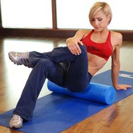 stretch oefening Piriformis-SMR