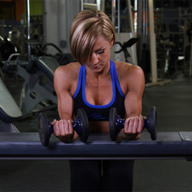 Palms up Barbell Wrist Curl