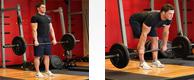Stiff-Legged Barbell Deadlift