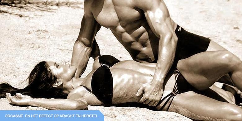 orgasme seks sportprestatie bodybuilding